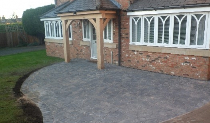 Oak Entrance porch